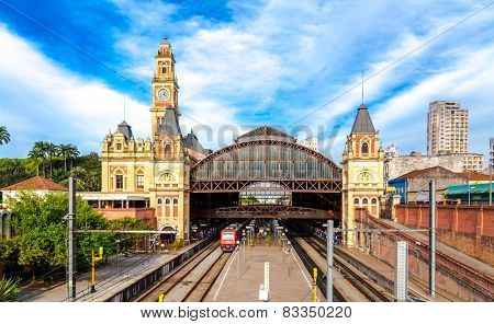 Luz Station in Sao Paulo, Brazil