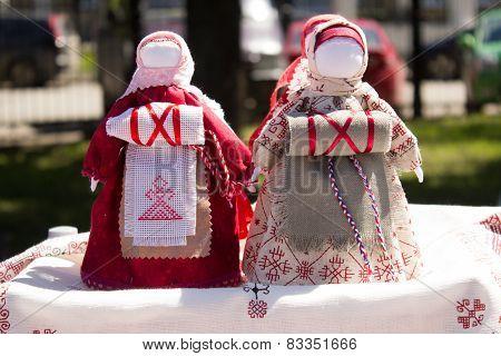 Rag dolls handmade