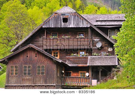 Austrian wooden house