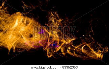 Human Torch Fiery Motion