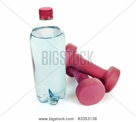 Hand Weights And Bottled Water