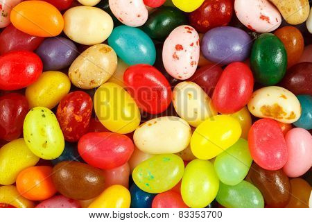 Assorted Multicolored Jelly Beans