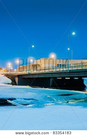 Bridge Over Icy River 3