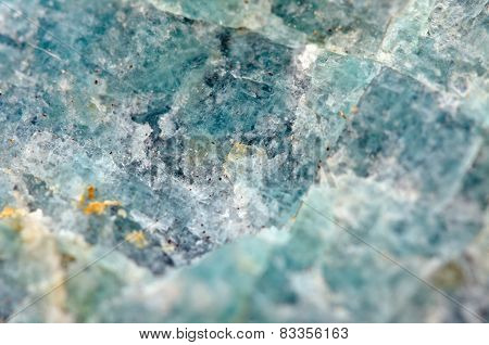 Amazonite Is A Bluish-green Variety Of Microcline Feldspar