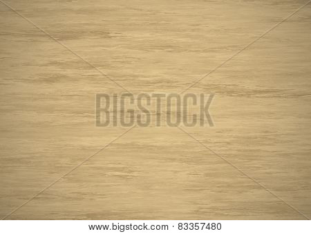 Illuminated Beige Wood Surface Texture