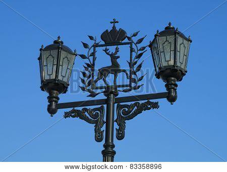Streetlights In Nizhny Novgorod