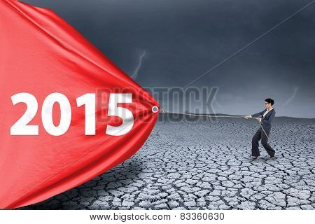 Employee Dragging Number 2015 For A Change