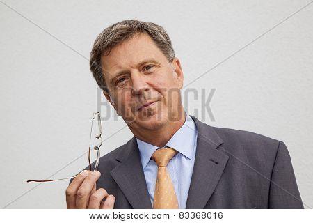 Positive Thinking Businessman