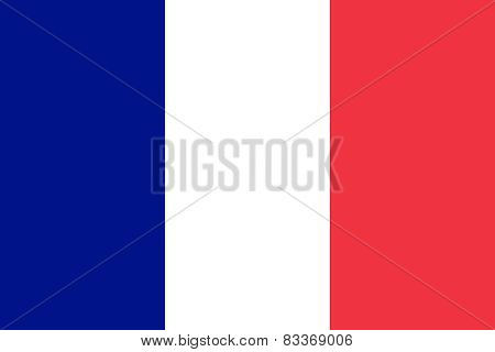 The French Official Flag