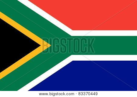 Republic Of South Africa Official Flag