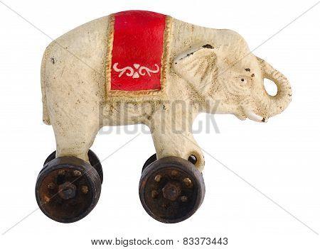Antique Toy Elephant
