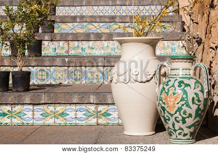 Art Of Ceramic In Sicily