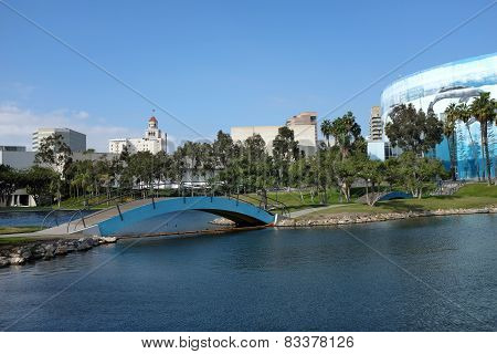 Pond And Long Beach Convention Center