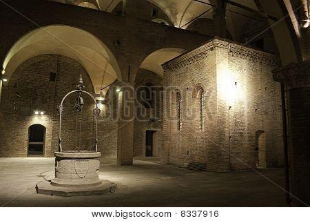 Palazzo del Podesta in Bologna