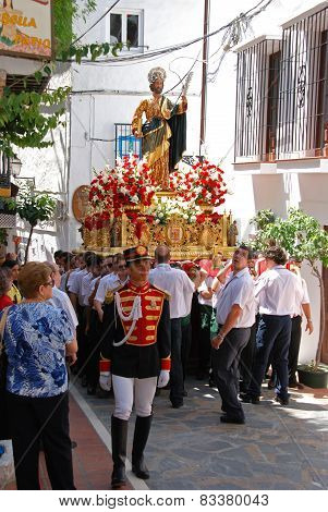 Saint Bernard Float, Marbella.