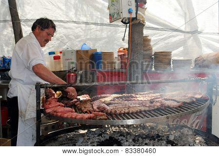 BBQ Chef, Marbella.