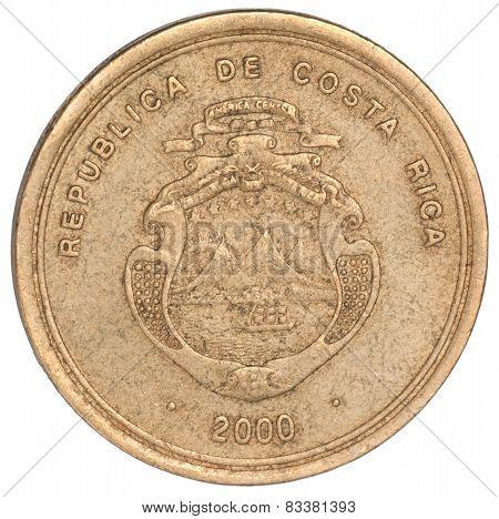 Costa Rican Coin