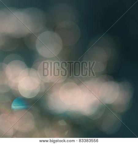 Greenish Festive Blur Background With Beautiful Boke