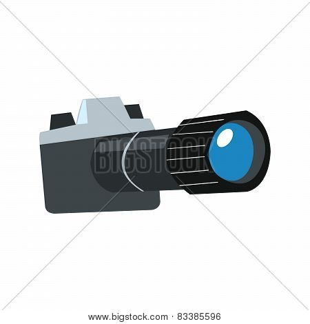Stylized Camera With Lens
