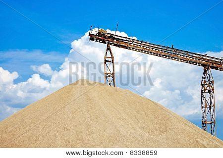 Big Ballast Pile