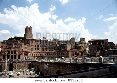 Old ruins of Rome