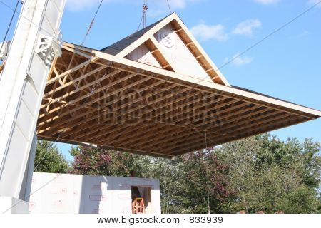 Lifting Roof on Home