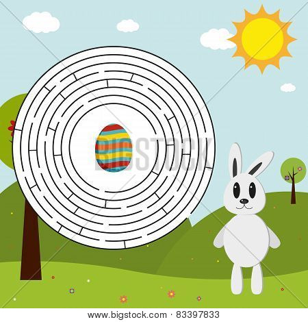 Easter Maze (solution In Eps)