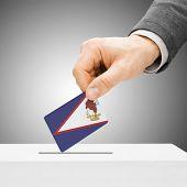 pic of samoa  - Voting concept  - JPG