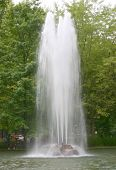 Tall Water Fountain