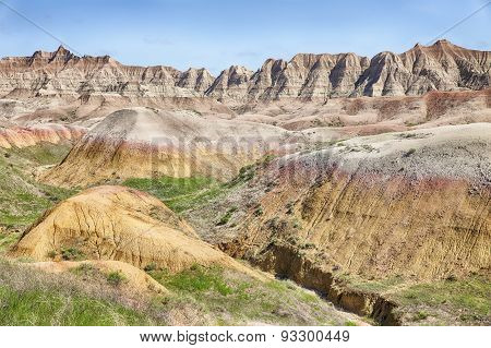 South Dakota Badlands Landscape
