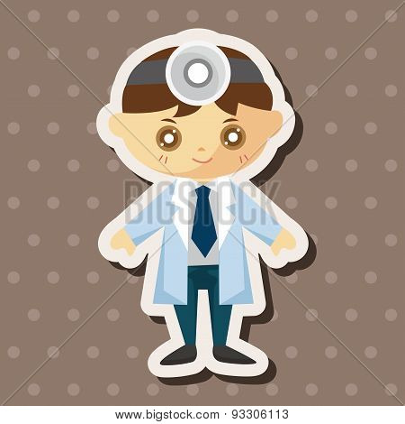 People Theme Doctor Theme Elements