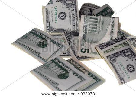 Pilha de dinheiro