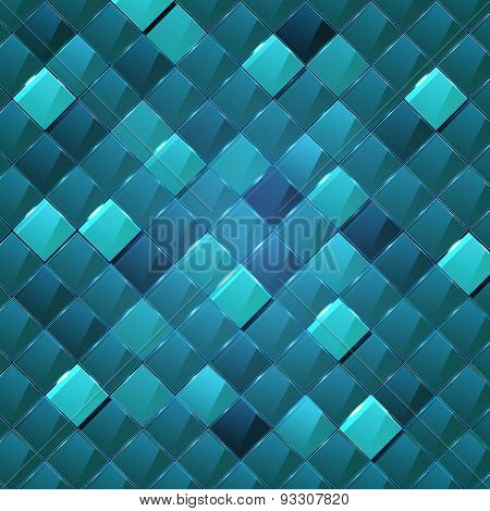 Web Site Technologe Geometric Glossy Background