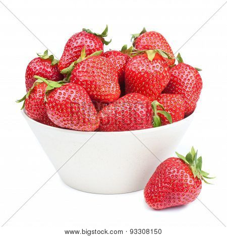 Strawberry In A Bowl