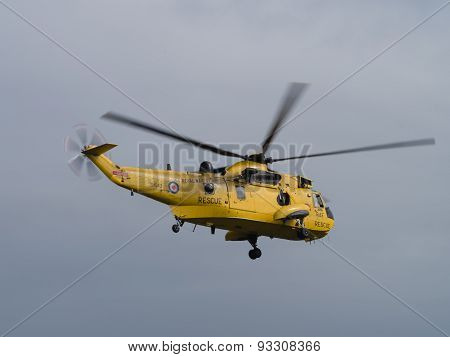 Raf Air Sea Rescue, Sea King, Helicopter