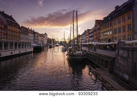Romantic Nyhavn, Copenhagen, Denmark