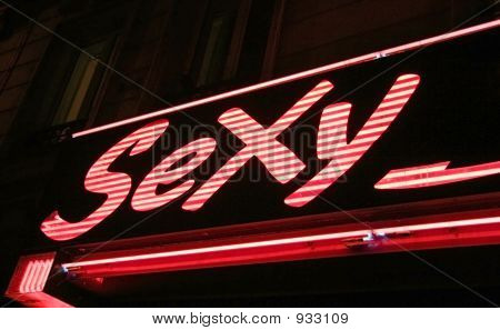 Sexy Neon Sign