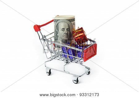 Gifts In The Shopping Cart