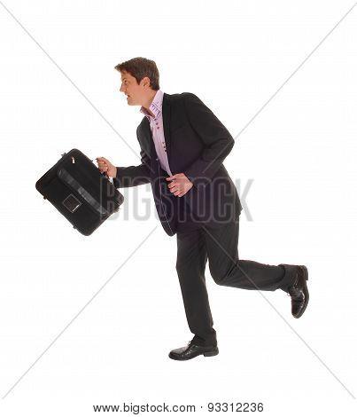 Businessman Running.