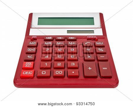 Red Calculator