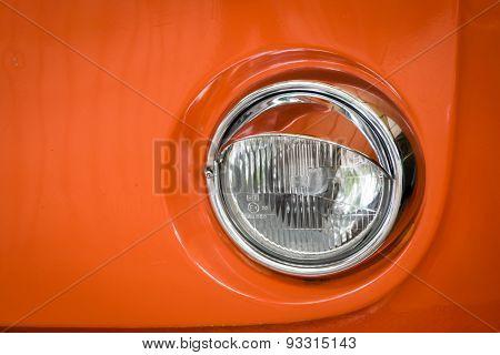 Vintage Car Headdlight