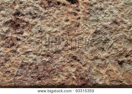 Rough Tooled Stone Background Texture Horizontal