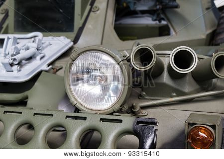 Military Car Headlight