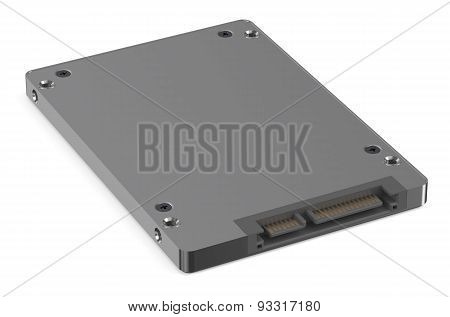 Solid State Drive Ssd Bottom View