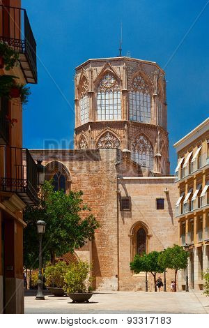 Miguelete Tower. Valencia, Spain