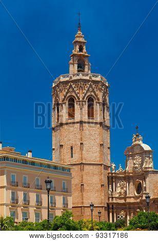 Metropolitan Basilica Cathedral. Valencia, Spain.
