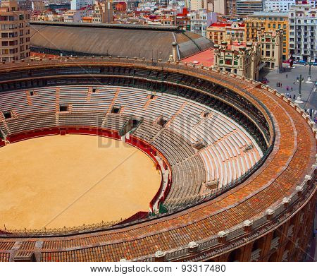 Bullring in Valencia. Spain