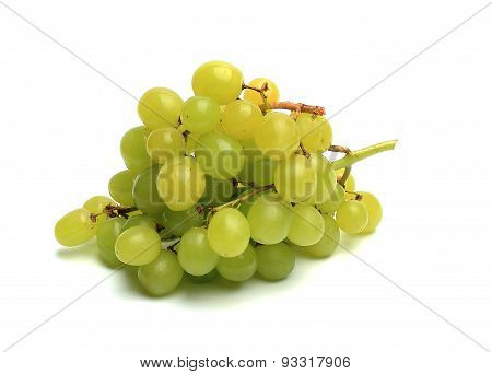 Bunch Of Grapes On White Background