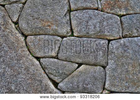 The walls of Saksaywaman Citadel, Cusco Peru