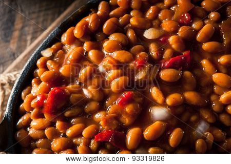 Homemade Barbecue Baked Beans